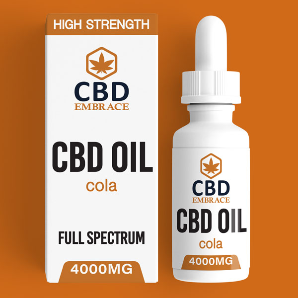 CBD Oil UK, Best CBD Oil UK, CBD Oil Cola 4000mg