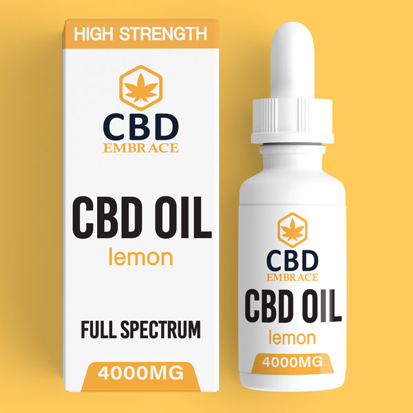 CBD Oil UK, Best CBD Oil UK, CBD Oil Lemon 4000mg