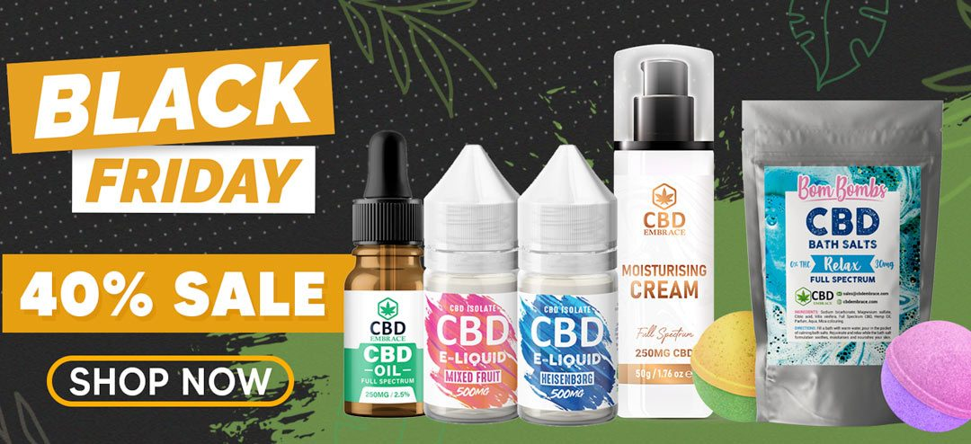 CBD Black Friday Deals UK – 2020