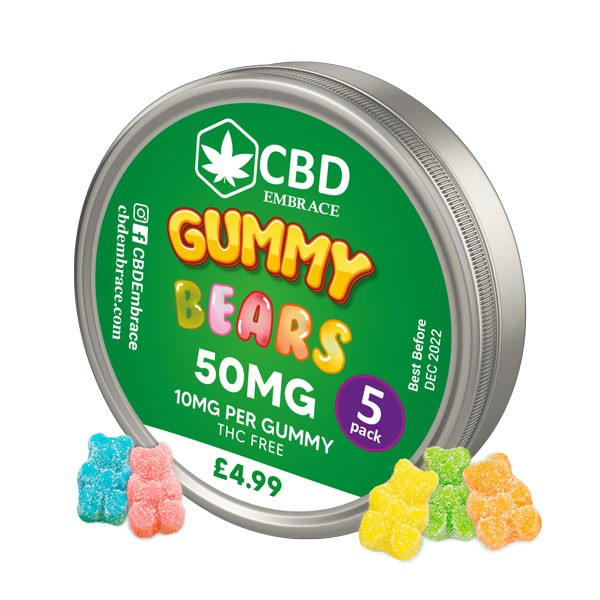 CBD Gummies UK & CBD Gummy Bears UK